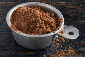 Measuring Unprocessed Cocoa Powder
