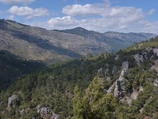 Parque natural de las Sierras de Cazorla, Segura y Las Villas en Jaen (Andalucia,España)