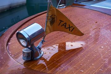 Headlight, Venetian Water Taxi, Venice, Italy