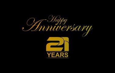 ANNIVERSARY 21 YEARS