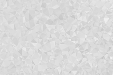 White Gradient Texture Polygon Background