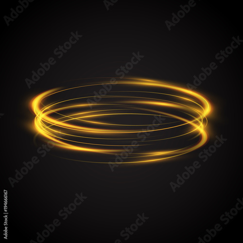 image rings color free vector neon colorful glowing ring set royalty