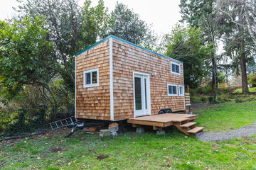 Portlable Tiny Home in Back Yard