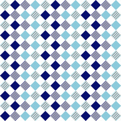 Square pattern with lines