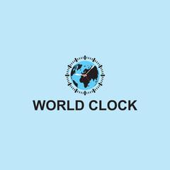 world clock logo