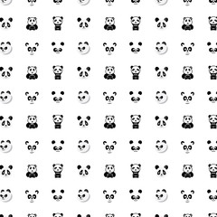 pattern icon panda