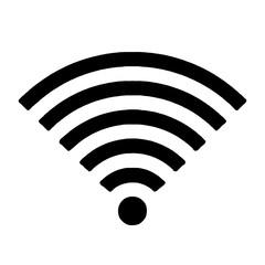Wi-Fi network icon. Vector illustration