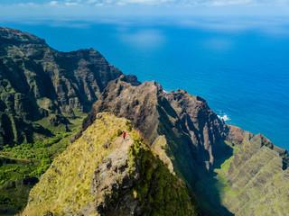 Awaawapuhi Trail Drone