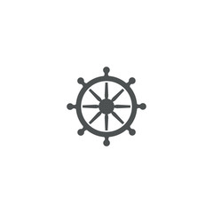rudder icon. sign design