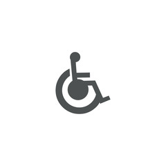 disabled icon. sign design