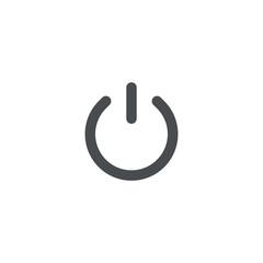 power icon. sign design