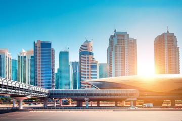 Stunning Dubai cityscape