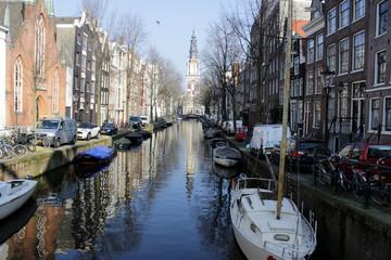 Amsterdam -  Canaux et ruelles
