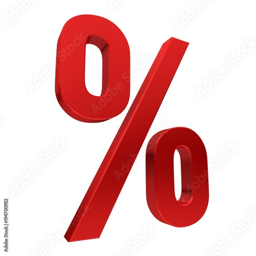 percent red sign percentage symbol discount icon sales label tag