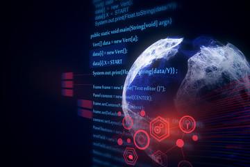 HTML globe texture