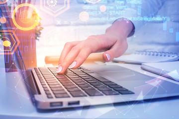 Programming, computing and web concept