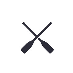 oars vector icon