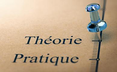 Enseignement théorique. Théorie et Pratique dans la formation professionnelle.