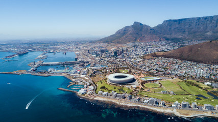 Cape Town from a bird's eye view