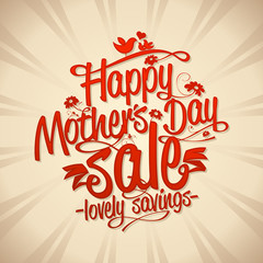 Mothers day sale design