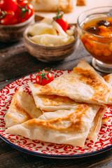 Delicious Turkish Food Gozleme