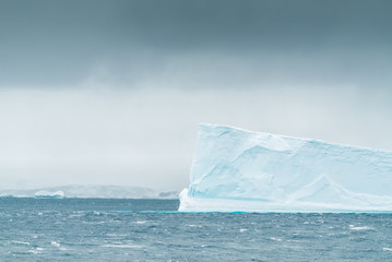 Iceberg in Antarctic Ocean - Antarctica