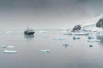 Panorama of Ice - Antarctica