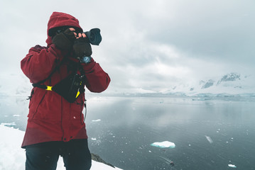 Photographing the Panorama - Antarctica