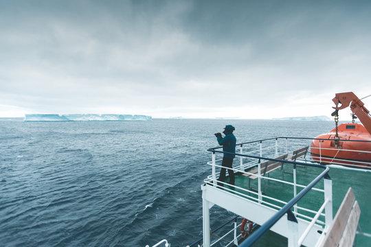 Enjoying the Landscape - Antarctica