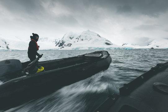 Cruising through the Landscape - Antarctica
