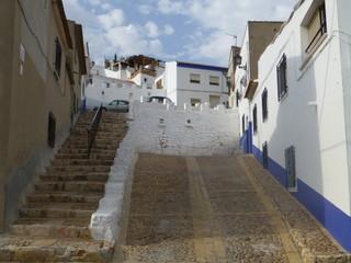 Campo de Criptana, pueblo de Ciudad Real, en la comunidad autónoma de Castilla La Mancha (España)