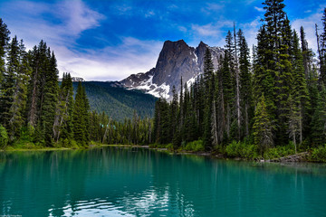 Canada Emerald Lake natural