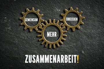 Zusammenarbeit! - Gemeinsam mehr erreichen