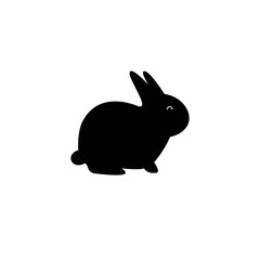 Rabbit Vector Template Design