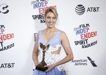 2018 Film Independent Spirit Awards – Photo Room – Santa Monica