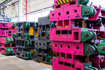 Automotive production line mold