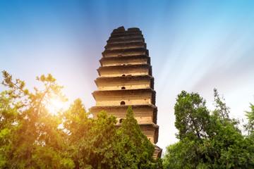 Xi'an ancient pagoda