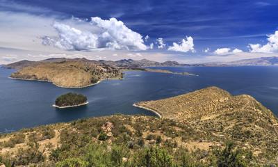 Island of the Sun (Isla del Sol), Lake Titicaca, Bolivia