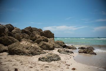Rocky Shore Miami Beach