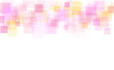 ピンクの四角形 アブストラクト