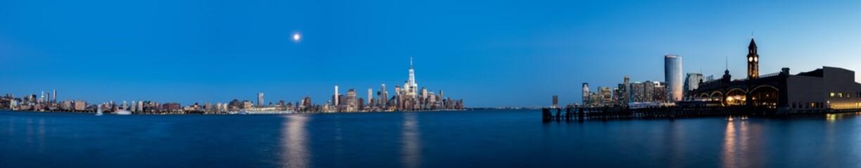New York City Panorama at Night
