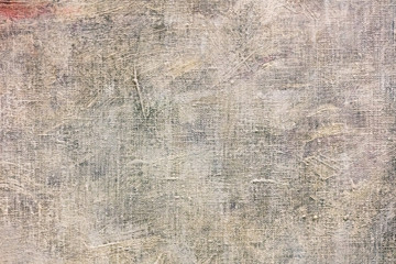 textured hand painted grunge acrylic canvas background closeup