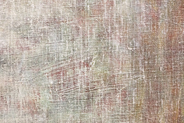 grungy painted texture canvas background closeup view