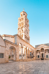 Ancient palace built for Diocletian - Roman Emperor - no property release required - Split, Croatia