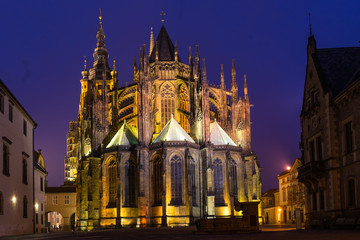 The Metropolitan Cathedral of Saints Vitus