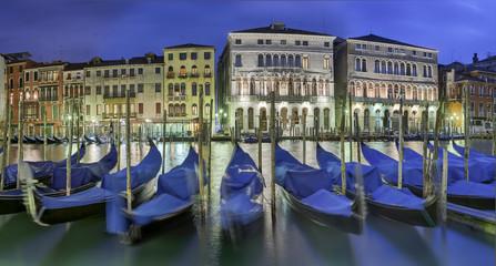 Fototapete - Venedig Canale Grande Abendstimmung Panorama