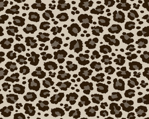 Print hyena leopard pattern texture repeating seamless monochrome black white