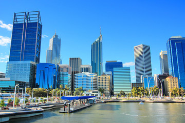 The city of Perth, Australia