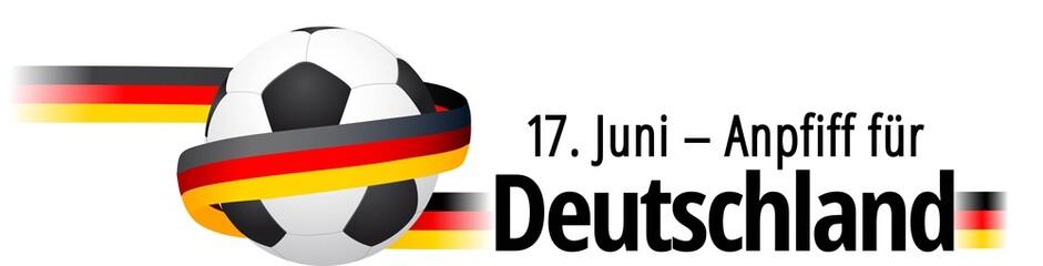 17. Juni - Anpfiff für Deutschland