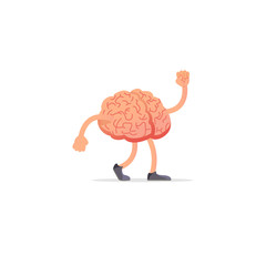 Brain illustration, mind concept drawing